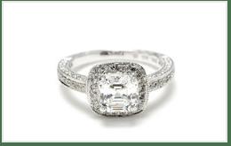 明亮切型(RADIANT CUT)鑽石戒指