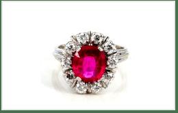 紅寶石戒指 3.8CT