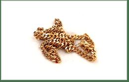 K18金鎖鏈金項鍊