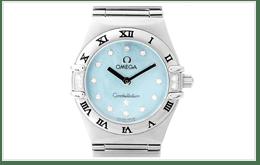 二手OMEGA 歐米茄女錶 CONSTELLATION 星座系列 貝殼錶面