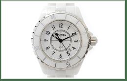 CHANEL 香奈兒 J12白陶瓷鑽錶的收購