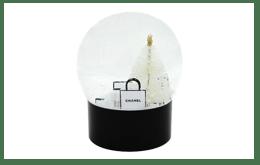 CHANEL 香奈兒 雪花水晶球 聖誕款