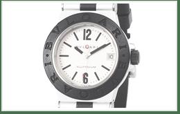 寶格麗 ALUMINIUM WATCH 白色錶面