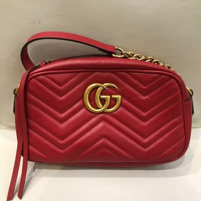 GUCCI 447632 紅MARMONT 西門