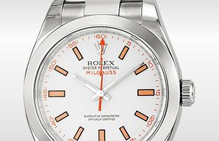 勞力士 ROLEX MILGAUSS 116400 白色錶盤指南