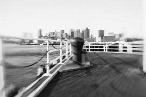 Boston Harbor Cityscape