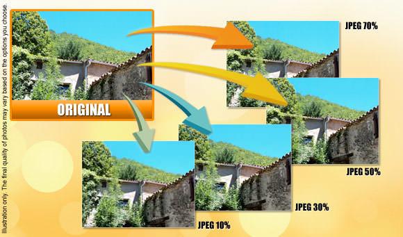 Online JPEG compressor picture optimizer ConvertImage