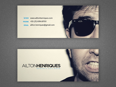 New Business Card by Ailton Henriques