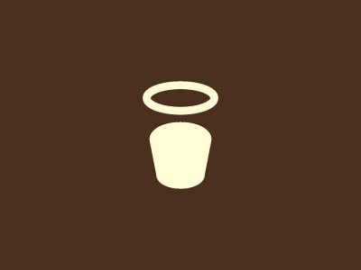 Coffee by Paul Saksin - Negative Space Logo Design Trend