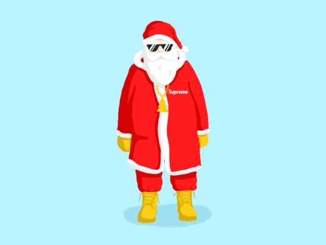 Swag Santa by Rasmus Lowenbraat