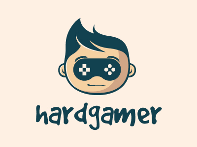 Hardcore Gamer Logo by Alberto Bernabe