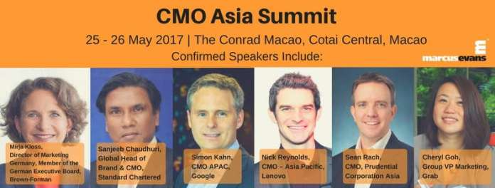 CMO Asia Summit 2017