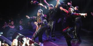 Missy Elliott performs onstage at the Alexander Wang X H&M Launch on October 16, 2014 in New York City.