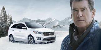 Pierce Brosnan Kia Super Bowld Ad