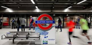 TfL Buxton Water Canada Water Rebranding