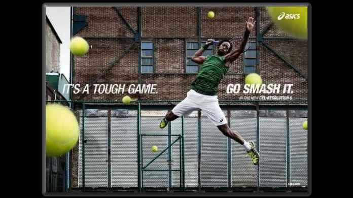 It's A Tough Game. Go Smash It. (PRNewsFoto/ASICS America)