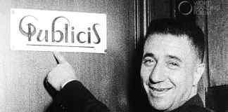 Marcel Bleustein-Blanchet and the original Publicis logo
