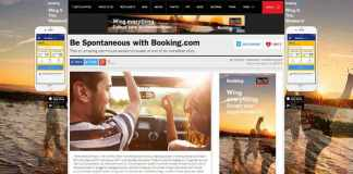 Booking.com Time Out campaign
