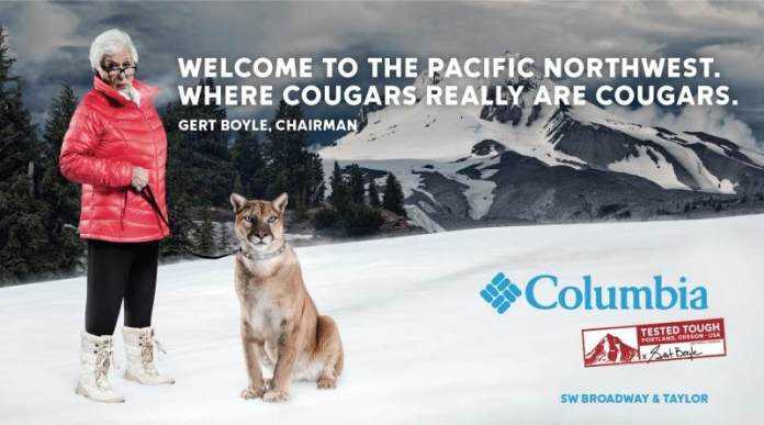 Columbia Sportswear launches new 'Tested Tough' advertising campaign.