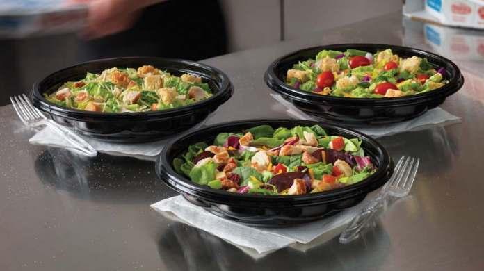 Dominos Pizza Salads