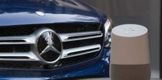 mercedes benz google home
