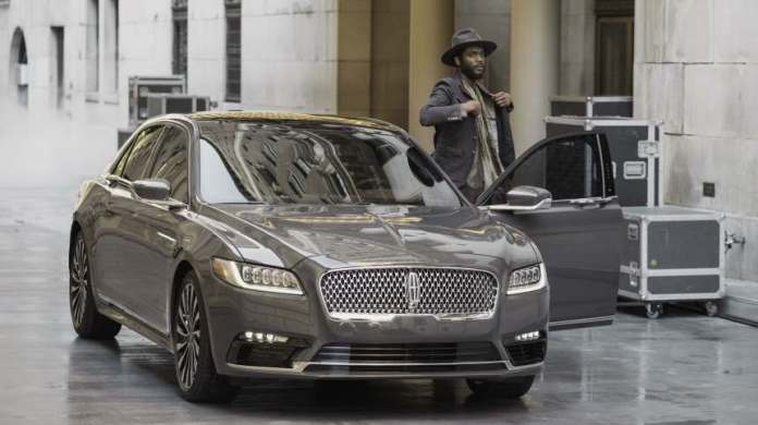 Singer-songwriter, Gary Clark Jr, with the 2017 Lincoln Continental.