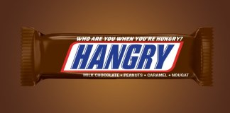 snickers hangry bar