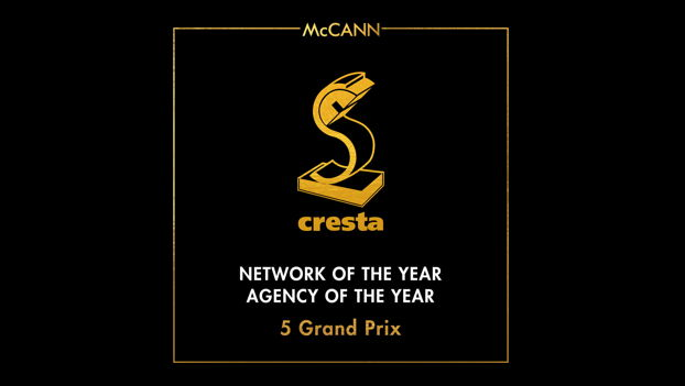 McCann Wins Network and Agency of the Year at Cresta Awards