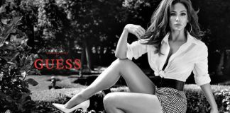 Jennifer Lopez Star of GUESS Jeans Spring 2018 Ad Campaign