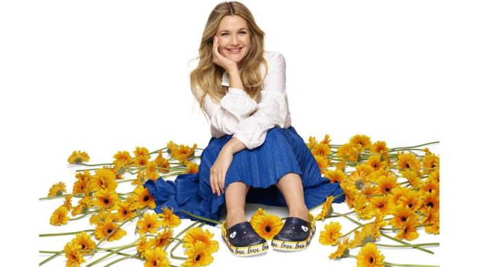Crocs Partners with Drew Barrymore in New Collection