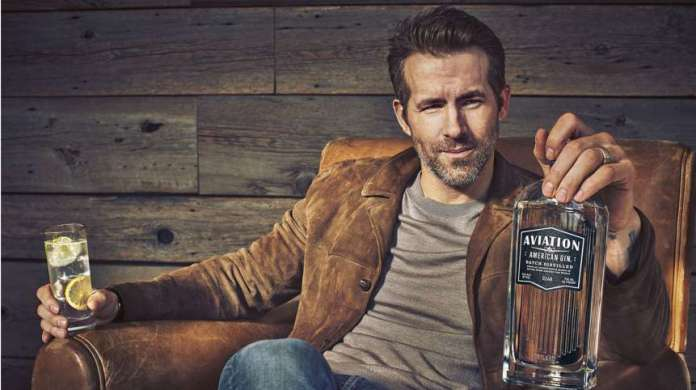 Ryan Reynolds Acquires Aviation Gin Just After One Sip