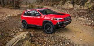 Bridgestone Supplies Tyres for 2019 Jeep Cherokee