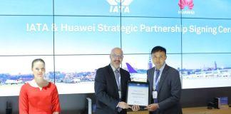 Huawei Enters Strategic Partnership with IATA