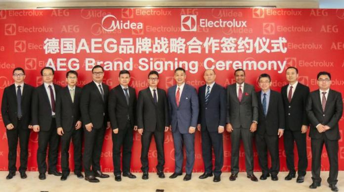 Electrolux and Midea Launch AEG Brand in China