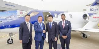 HondaJet Expands Operations in Guangzhou Baiyun International Airport