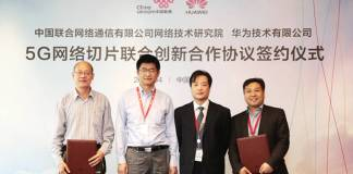 Huawei Signs Joint Innovation Agreement with China Unicom