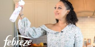 Febreze ONE Partners with Tamera Mowry as She Opens Her Home