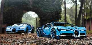 LEGO Bugatti Chiron scenic shot