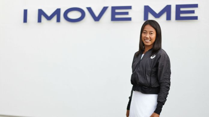ASICS TEAMS UP WITH CHINA TENNIS CHAMP ZHANG SHUAI FIRST FEMALE CHINESE TENNIS PLAYER TO JOIN TEAM ASICS