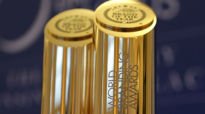 New World Branding Awards Trophies
