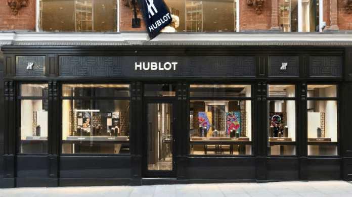 hublot flagship london bond street boutique