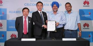 Huawei Partners with Celcom to Apply a Cloud-based Platform for Digitized Network Operations