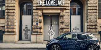 bmw i lovelace hotel collaboration
