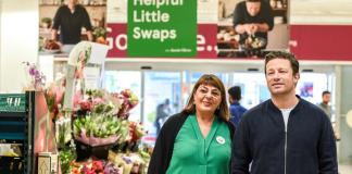 Jamie Oliver Joins Tesco to Help Make Healthy Eating Easier