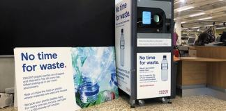 Tesco Trials Money Back on Returned Plastic Bottles