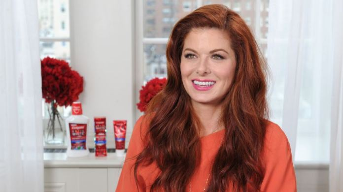 colgate debra messing