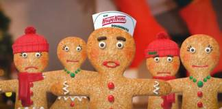 krispy kreme gingerbread