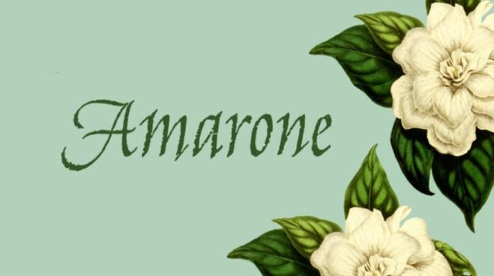monotype amarone font