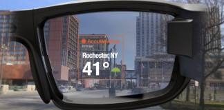 vuzix blade accuweather