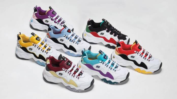 skechers dlites collection